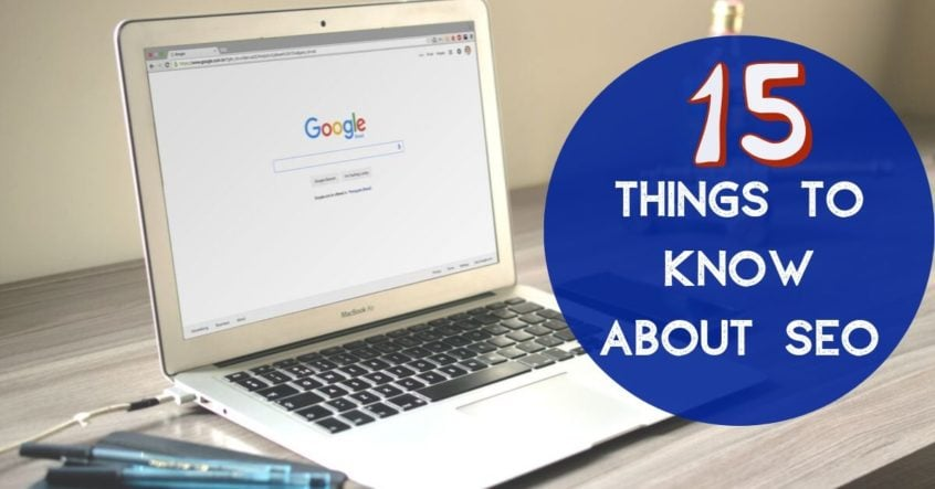 15 Things to Know about SEO