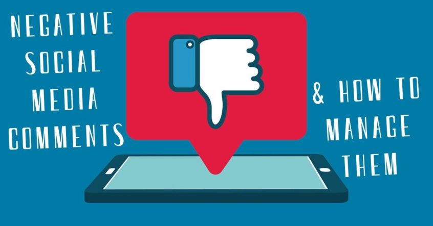 Negative Social Media Comments & How to Manage Them